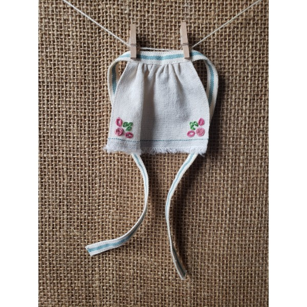 Hand Embroidered Apron