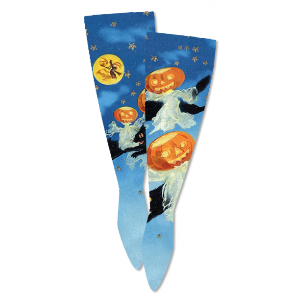 Grim Grinning Ghosts Socks