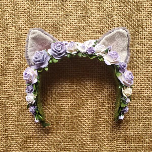 Kitty Flower Crown